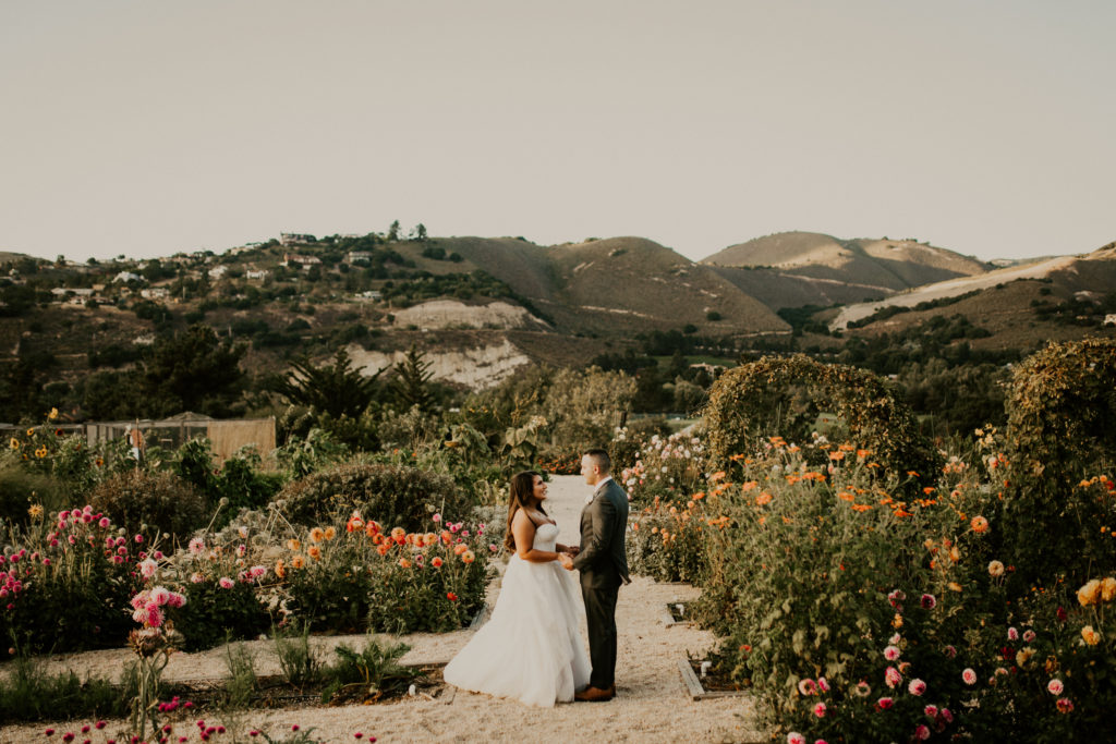 married couple at Carmel valley ranch