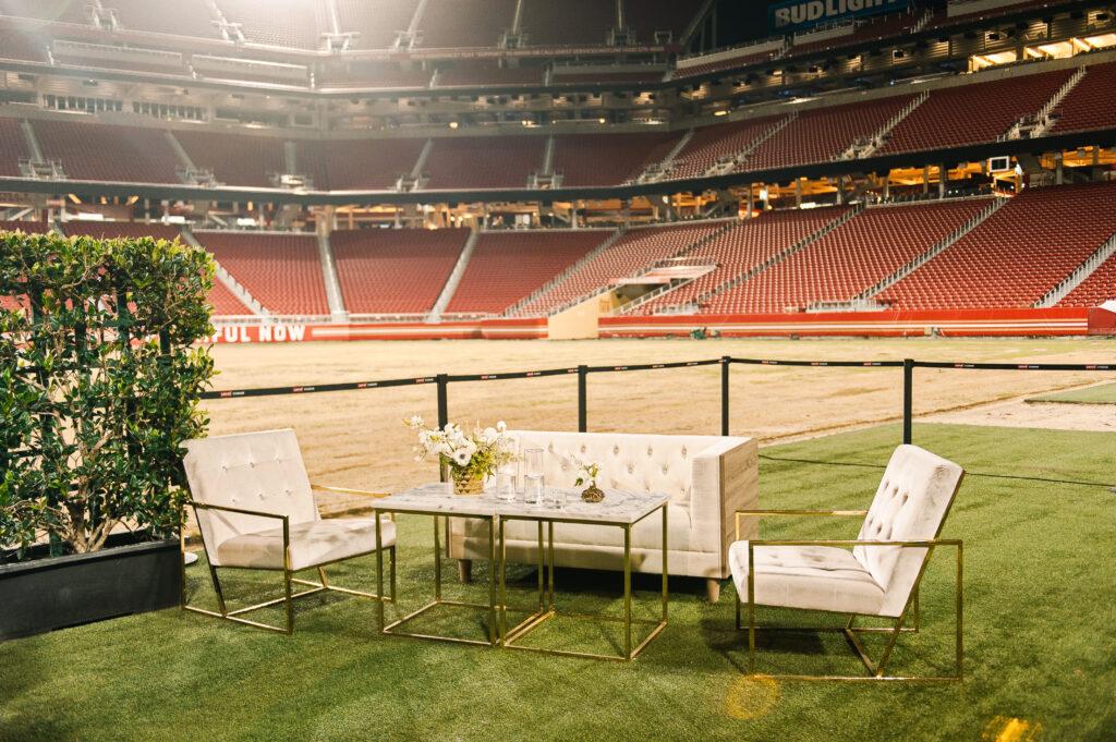 intimate stadium seating