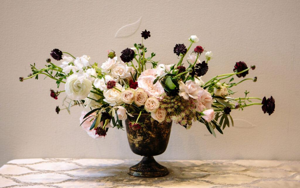 Wedding florals designed by Nicole Ha