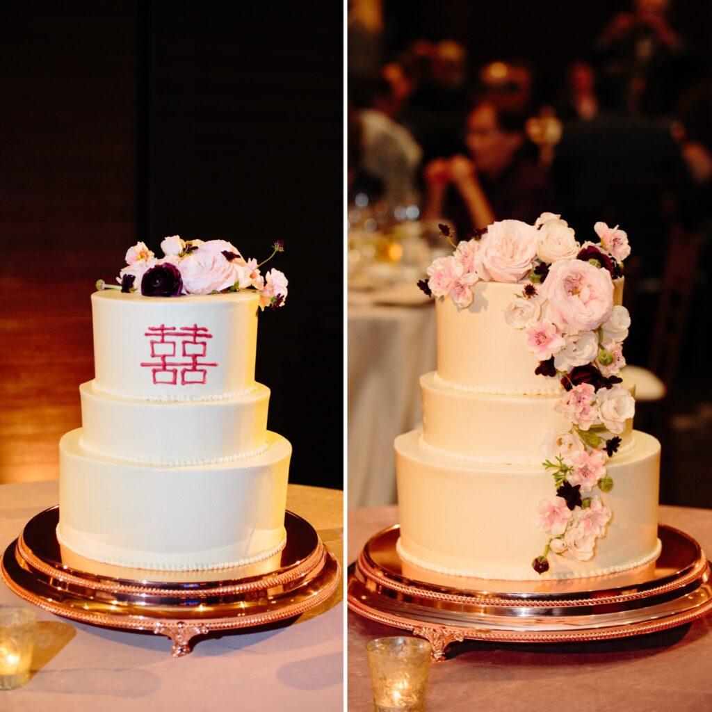 Wedding cake by St. Regis
